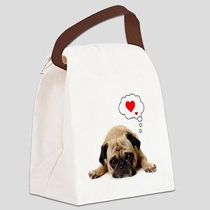Valentine 5x7 Canvas Lunch Bag