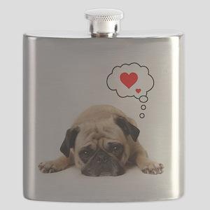 Valentine 5x7 Flask