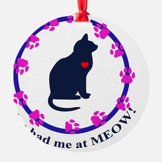meowlapelsticker Ornament
