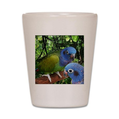 2bluepionus Shot Glass