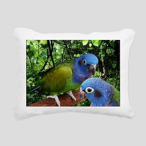 2bluepionus Rectangular Canvas Pillow