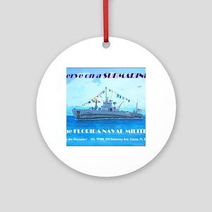 TFNM Fleet Submarine Round Ornament