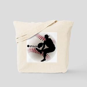 iPitch Baseball Tote Bag