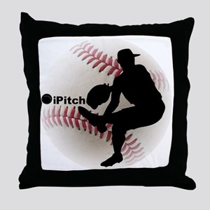 iPitch Baseball Throw Pillow
