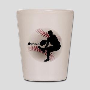 iPitch Baseball Shot Glass