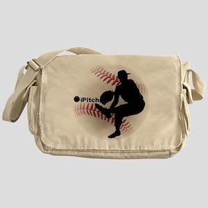 iPitch Baseball Messenger Bag