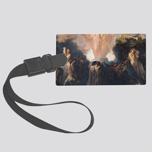 Resurrection of the Dead by Vict Large Luggage Tag