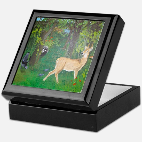Woodland Animals Keepsake Box
