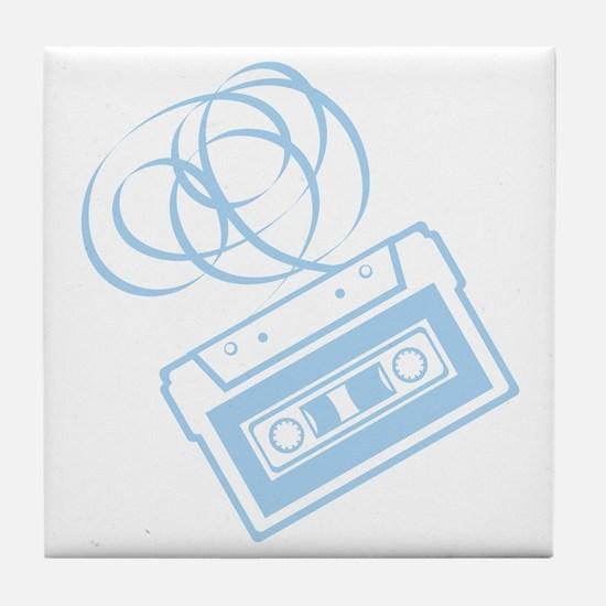 X392A_Tape_LtBlue Tile Coaster