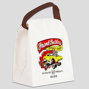 FrankButlersSpeedShop Canvas Lunch Bag