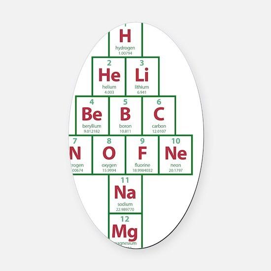 ToteBag_Ochemistry_FRONT Oval Car Magnet