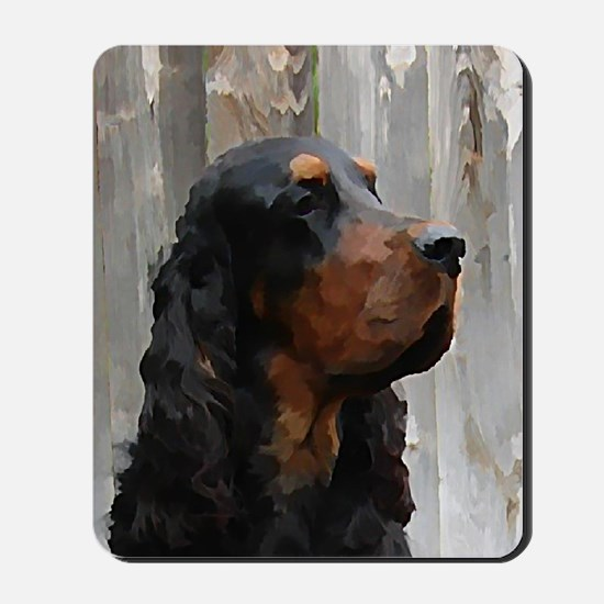 SpencerHeadVerticalNoteCard Mousepad