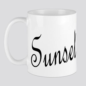 Blk_SunSet_Point Mug
