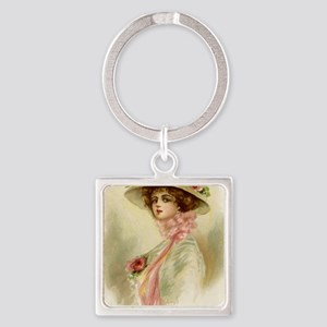 greeting card Square Keychain