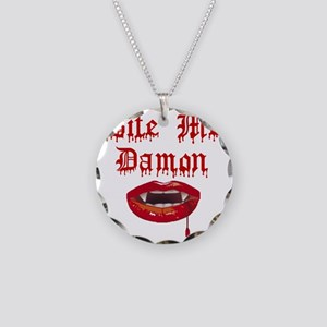 bitemed Necklace Circle Charm