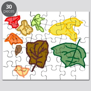 Connors leaves age 3 Puzzle