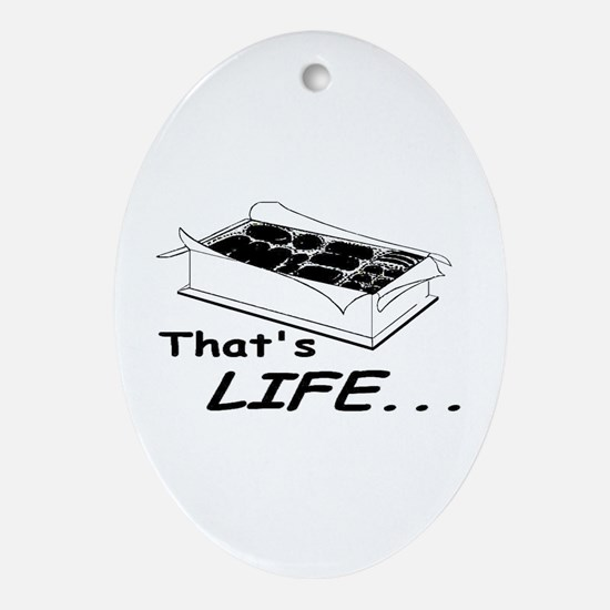 *DISCOUNTED* That's Life -  Oval Ornament