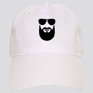 Full beard sunglasses Cap