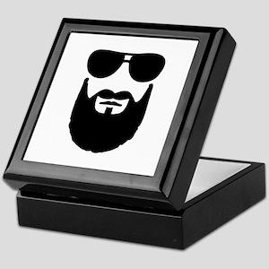 Full beard sunglasses Keepsake Box