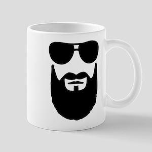 Full beard sunglasses Mug