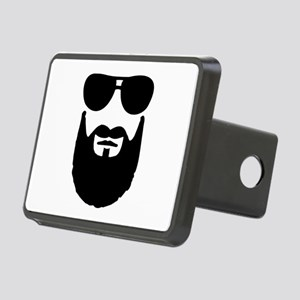 Full beard sunglasses Rectangular Hitch Cover
