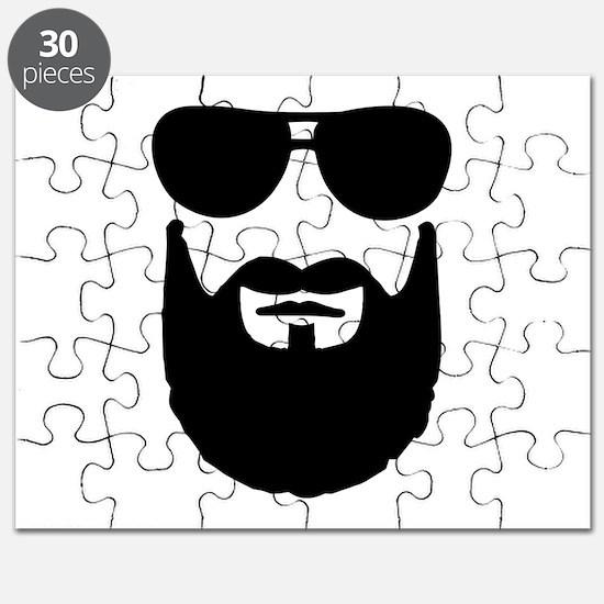 Full beard sunglasses Puzzle