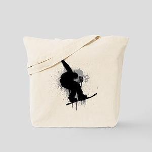 Snowboarder Tote Bag