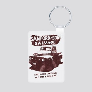 sanford and son Aluminum Photo Keychain