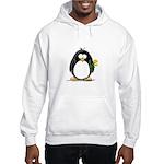 Yellow Rose Penguin Hooded Sweatshirt