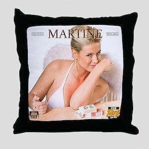 RGcal-2011_01-martine-vanhalen Throw Pillow