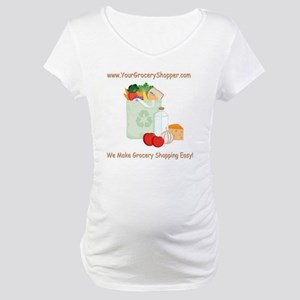 tote-bag-print-2-0 Maternity T-Shirt
