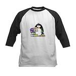 Scrapbook Penguin Kids Baseball Jersey