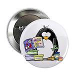 Scrapbook Penguin Button
