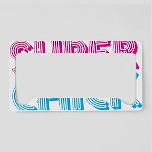 SuperChick License Plate Holder