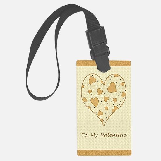 To My Valentine Ogden Nash Poetr Luggage Tag