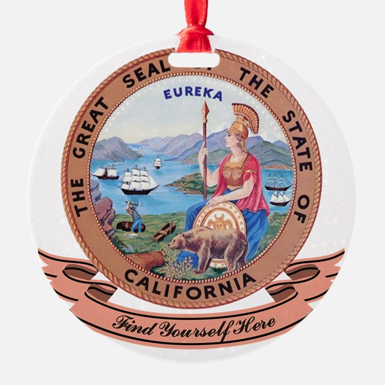 California Seal Ornament