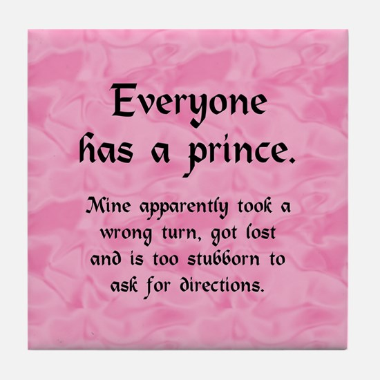everyoneprince_rnd1 Tile Coaster