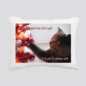penny card 09 v3 Rectangular Canvas Pillow