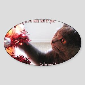 penny card 09 v3 Sticker (Oval)