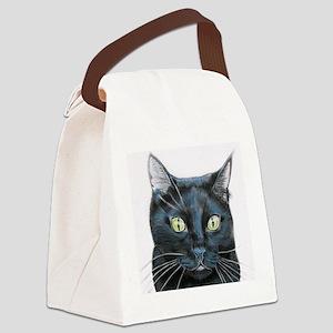 black cat online store Canvas Lunch Bag