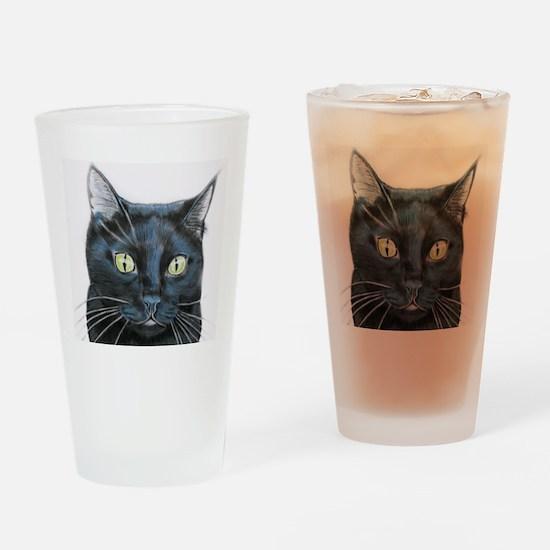 black cat online store Drinking Glass
