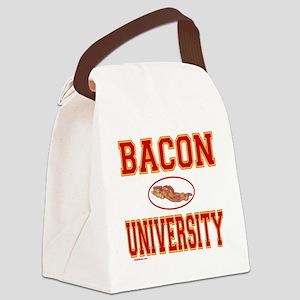 BaconUniversity Canvas Lunch Bag