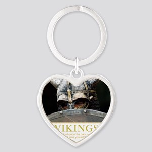viking Heart Keychain