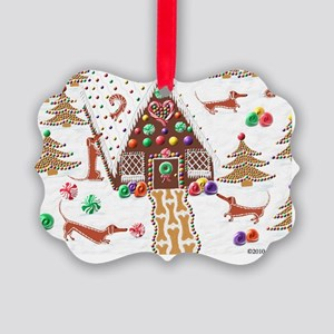 GingerbreadCard Picture Ornament