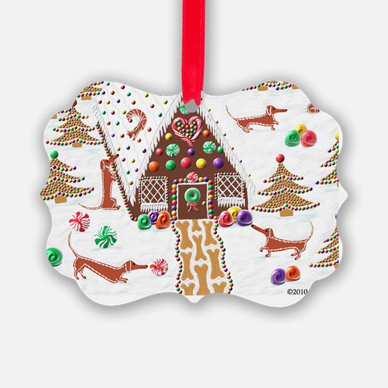 GingerbreadCard Ornament