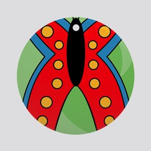 Butterfly iPad Round Ornament
