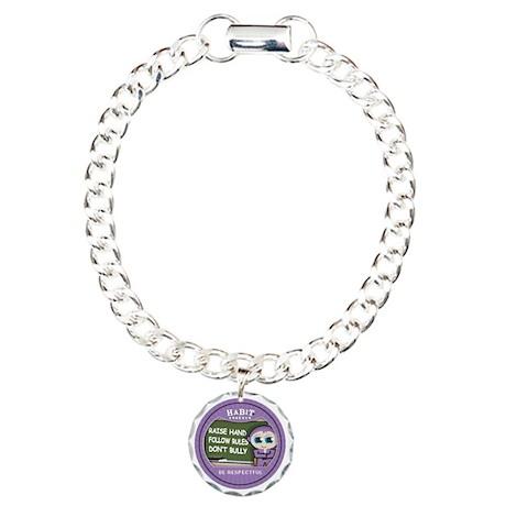 be respectful copy Charm Bracelet, One Charm