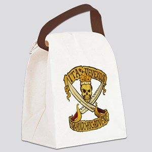 IFRP logo painted Canvas Lunch Bag