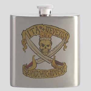 IFRP logo painted Flask