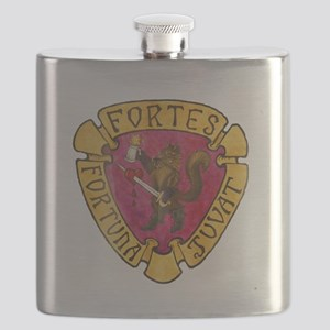IBRSC logo Painted Flask